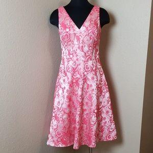 Rickie Freeman Teri Jon Lined Sleeveless Dress
